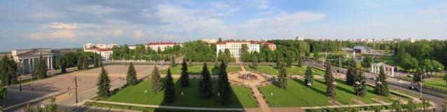 Panoramablick von Molodechno stockfotos
