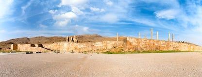 Panoramablick von Persepolis in Nord-Shiraz, der Iran Lizenzfreie Stockfotografie