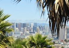 Panoramablick von San Francisco im Stadtzentrum gelegen, USA Lizenzfreie Stockfotografie
