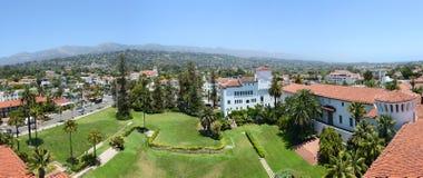 Panoramablick von Santa Barbara, Kalifornien lizenzfreie stockbilder