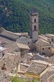 Panoramablick von SantAgata-Di Puglia. Puglia. Ita Lizenzfreie Stockfotografie