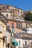 Panoramablick von SantAgata-Di Puglia. Puglia. Ita Stockbild