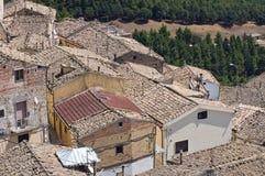Panoramablick von SantAgata-Di Puglia. Puglia. Ita Stockfotos