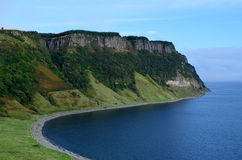 Panoramablicke von Bearreraig-Bucht in Schottland lizenzfreie stockfotografie