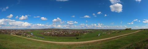 panoramaby Arkivbild