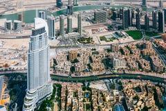 Panoramaemirater, Abu Dhabi, UAE Arkivbild