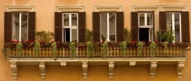 panoramafönster Arkivfoto