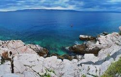 panoramahav Arkivbild