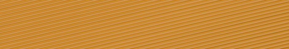 Panoramahintergrund der dunklen Sand-farbigen Platte mit diagonalen Rippen Lizenzfreies Stockfoto