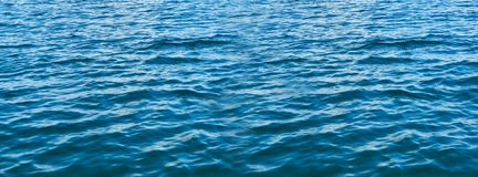 Panoramahintergrund des blauen Wassers lizenzfreies stockbild