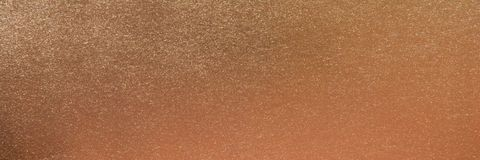 Panoramakopparmetallisk yttersidabakgrund Koppartexturbakgrund arkivbilder
