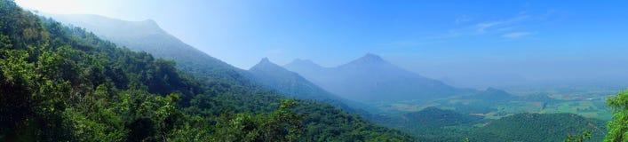 Panoramalandschaft Stockfotos