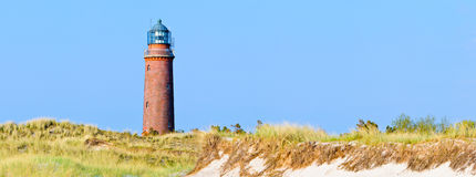 Leuchtturmpanorama Lizenzfreies Stockfoto
