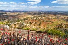 Panoramalandschap Ambohimanga royalty-vrije stock afbeeldingen