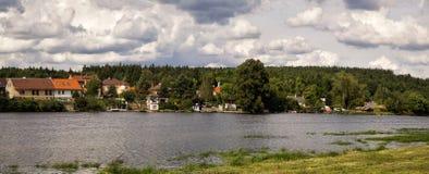 Panoramalandskap Arkivbild