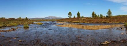 Panoramaliten vik Murgudu Royaltyfria Foton