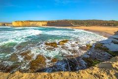 Panoramaloch de Kloof van Ard op Grote Oceaanweg Royalty-vrije Stock Foto