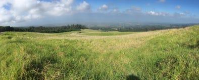 Panoramamening aan de heuvelkant Stock Foto's