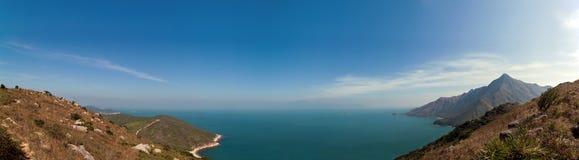 Panoramamening van de kant van het land in Azië Royalty-vrije Stock Foto