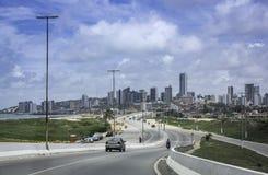 Panoramamening van Geboortestad, Brazilië royalty-vrije stock fotografie