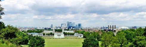 Panoramamening van Londen royalty-vrije stock afbeelding