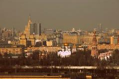 PanoramaMoskva av den Ryssland mitten Fotografering för Bildbyråer