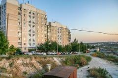 Panoraman av staden av Belgorod fotografering för bildbyråer