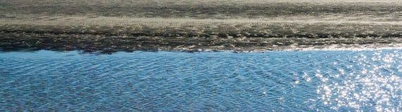 Panoramaozeanküstenlinien-Wasseransicht Lizenzfreie Stockfotografie