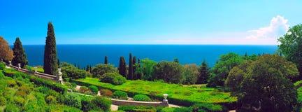 panoramapark Royaltyfri Bild