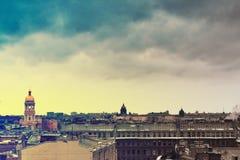 panoramapetersburg st arkivbilder
