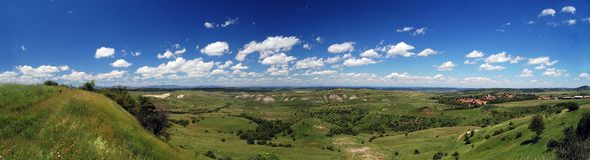 panoramaplatå Arkivfoton