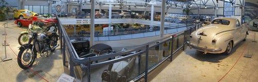 PanoramaRiga motormuzejs Royaltyfri Fotografi