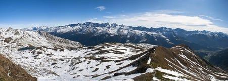 panoramarisihorn Royaltyfri Foto