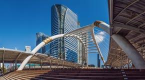 Panoramas , Building  style modern Stock Image
