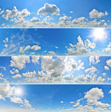 Panoramas de ciel Image stock