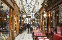 Panoramas de DES de passage, Paris image stock