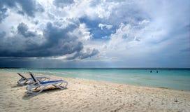Panoramas del mar y de las islas Imagenes de archivo