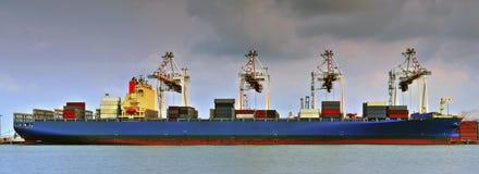 Panoramaschiff Stockfoto