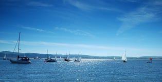 panoramasegling Fotografering för Bildbyråer