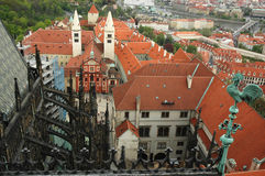 panoramasikt Arkivfoto