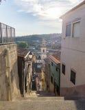 Panoramasikt av Chella Valencia Spain Canal de Navarres Arkivbild