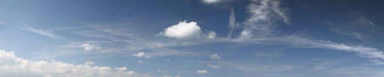 panoramasky Arkivfoton