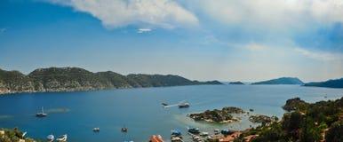 panoramasommar Royaltyfria Foton