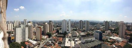 Panoramastad Dag Lichte São Paulo royalty-vrije stock fotografie