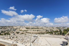 Panoramastadt von Jerusalem Lizenzfreie Stockfotografie
