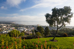 Panoramat av Ventura från lån parkerar Arkivfoton