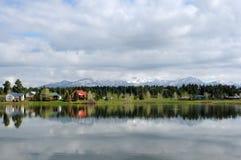 Pinon Lake Royaltyfria Bilder