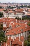 panoramatic布拉格视图 免版税库存照片