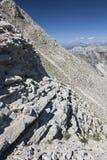 Panoramatic观点的法语Alpes 免版税库存图片