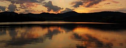 panoramatic река Стоковое Изображение RF
